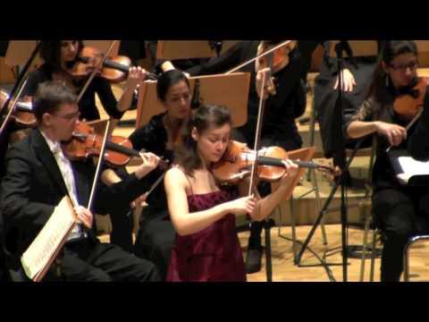 Yvonne Smeulers - Brahms Violin Concerto in D major, 3. Allegro giocoso, ma non troppo vovace