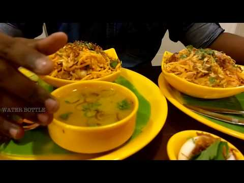 ATHO MAN / FOODIE WITH WATER BOTTLE / NORTH CHENNAI