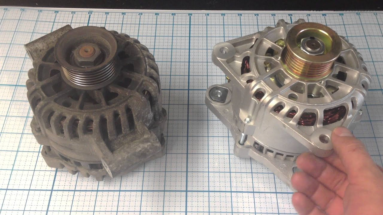 2000 ford focus alternator types