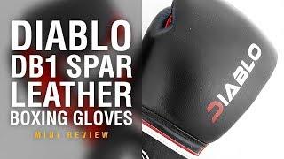 Diablo DB1 Spar Boxing Gloves - Fight Gear Focus Mini Review