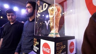 FIFA WORLD CUP TROPHY in PAKISTAN