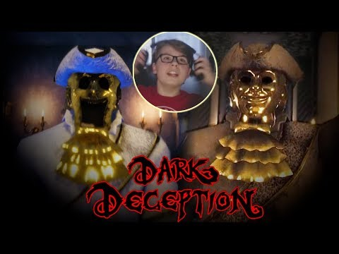 DON'T LOOK AWAY FROM THE GOLD WATCHERS | Dark Deception Chapter 2 (Deadly Decadence)