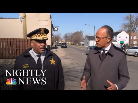 Chicago Police Use New Strategy To Fight Gun Violence | NBC Nightly News