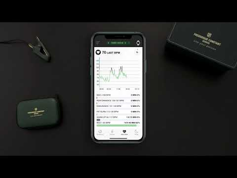 FREDERIQUE CONSTANT TUTORIAL ¦ SMARTWATCH VITALITY - HOW TO USE THE HEART RATE MONITORING
