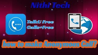 How to make Anonymous Call?  | Nithi Tech (Tamil)