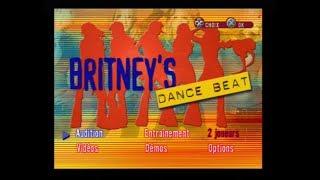 """[Ps2] Introduction du jeu """"Britney's Dance Beat"""" de l'editeur THQ (2002)"""