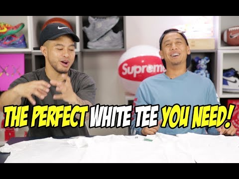 THE PERFECT WHITE TEE! WHICH ONE SHOULD YOU GET?