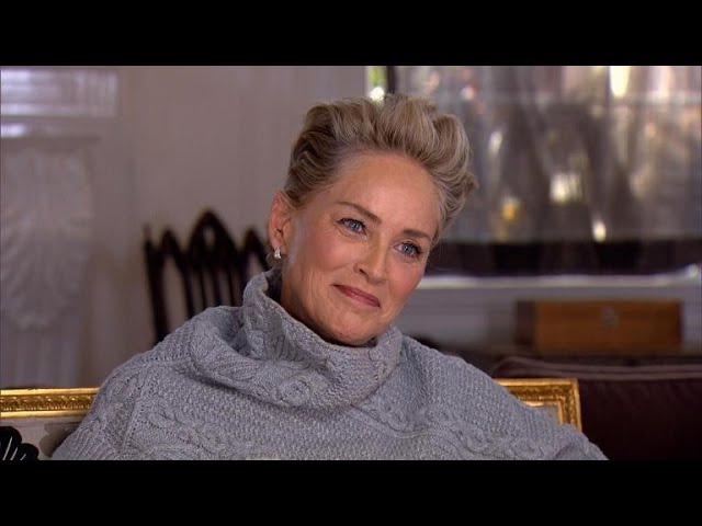 Sharon Stone on second chances