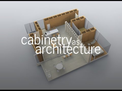 Cabinetry as Architecture  - 3 Approaches (An Architectural Essay)