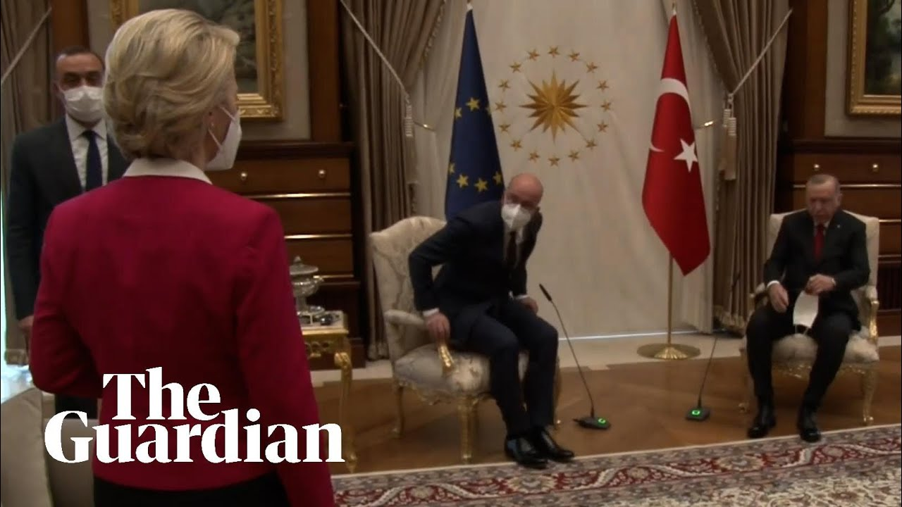 Ursula von der Leyen snubbed in chair gaffe at EU-Erdoğan talks | European  commission