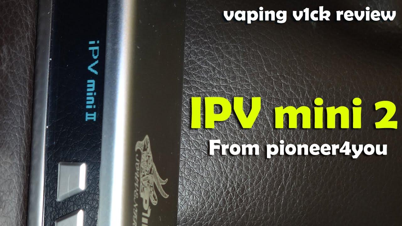 IPV Mini V2 70 Watt Box Mod - Review