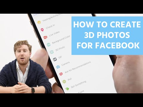 How to Create 3D Photos for Facebook - YouTube
