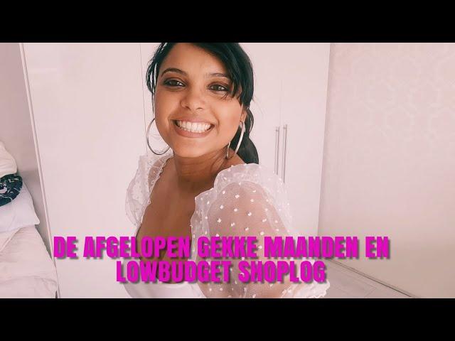 DE AFGELOPEN GEKKE MAANDEN EN LOW BUDGET SHOPLOG - JENNA VLOG #22