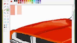 general lee (dukes of hazzard car) speedpaint