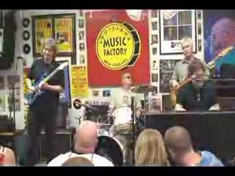 MARC ADAMS @ Louisiana Music Factory JazzFest 2007