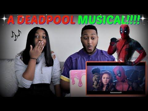 Deadpool Musical - Beauty and the Beast 'Gaston' Parody REACTION!!!!