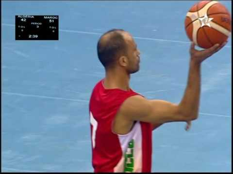 ALGERIE / MAROC Championnat Arabe des Nations 2016/2017 3éme & 4éme quarts