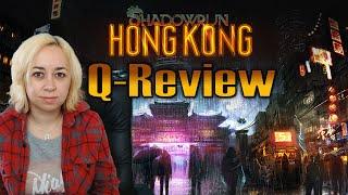 Shadowrun: Hong Kong | Review by QELRIC