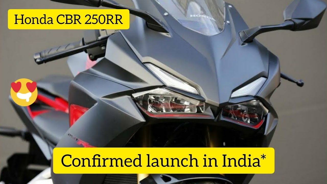 Upcoming Honda Cbr 250rr 2018 Price Specs Mileage Launching Soon