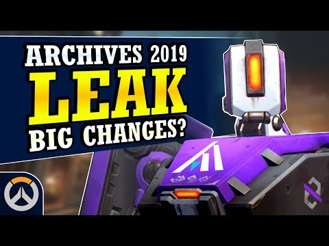 Overwatch - NEW LEAK Archives Event 2019 Dates & Big Event Changes Incoming? thumbnail