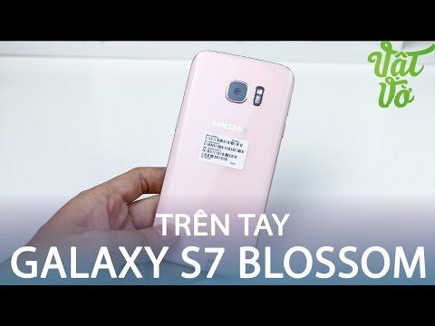 Vật Vờ| Đây là smartphone nữ tính nhất quả đất: Galaxy S7 Pink Blossom