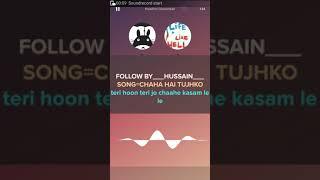 Chaha Hai Tujhko (karaoke) OST Mann