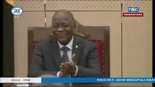 RAIS MAGUFULI ALIVYOKABIDHIWA MADINI YALIYOKAMATWA KENYA!