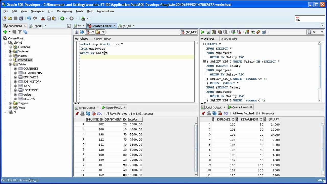 SQL Developer 3.1: Teradata SQL To Oracle Sql Translation - YouTube