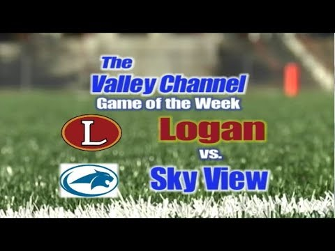 Logan High School at Sky View High School football game 9-28-18