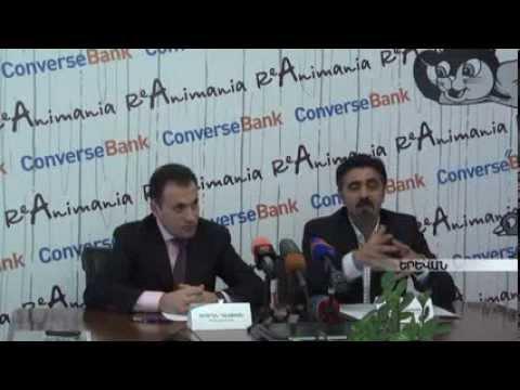 ReAnimania, Converse Bank, Press Conference - Armenia TV