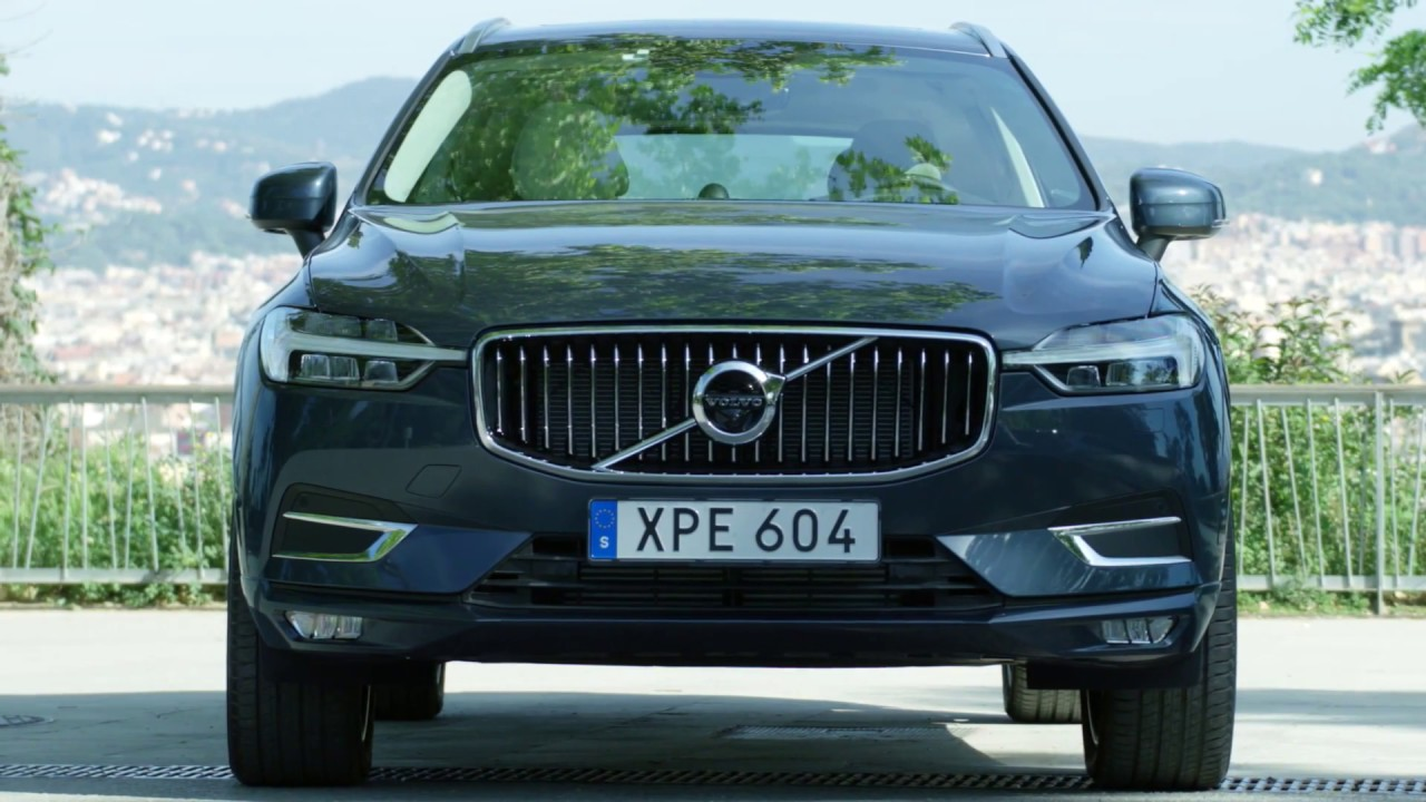 2018 New Volvo XC60 T6 Denim Blue Exterior Design