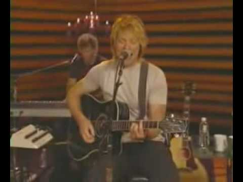 Bon Jovi - Bed Of Roses (Live Acoustic @ Sessions AOL)