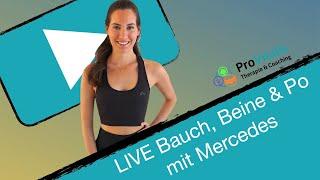 LIVE Bauch, Beine & Po mit Mercedes DO 13.08.20
