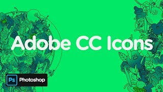 Adobe CC Icons 2D | Potoshop Template