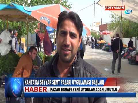 KAHTA'DA SEYYAR SEMT PAZARI UYGULAMASI BAŞLADI