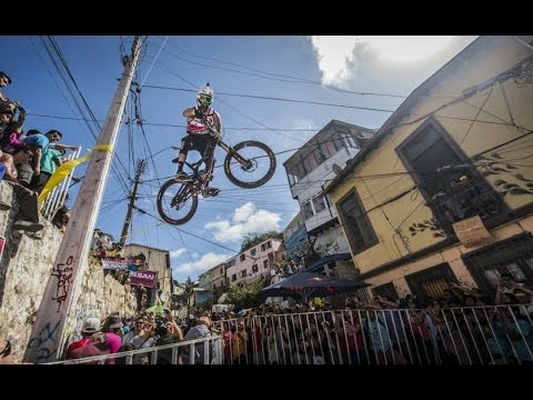 Red Bull Mountain Bike >> One of the scariest urban downhill MTB competitions returns - YouTube
