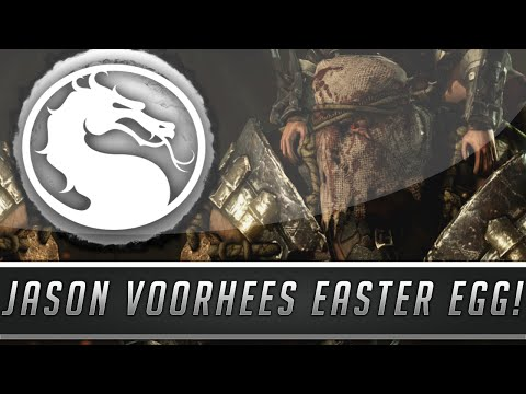 Mortal Kombat X: Jason Voorhees & Torr Easter Egg - Friday The 13th Reference! (Mortal Kombat 10)