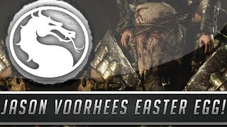 Mortal Kombat X: Jason Voorhees & Torr Easter Egg - Friday The 13th Reference! (Mortal Kombat 10)