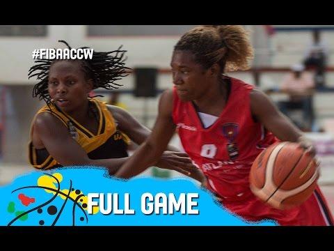 Usiu (KEN) v 1° Agosto (ANG) -Full Game - FIBAACCW 2016