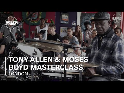 Tony Allen & Moses Boyd Masterclass Boiler Room x Guardian Gateways