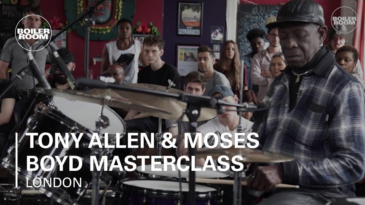Tony Allen & Moses Boyd Masterclass Boiler Room x Guardian Gateways