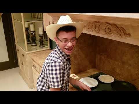 Student Making Choriqueso for Spanish Class Cristian Zuniga