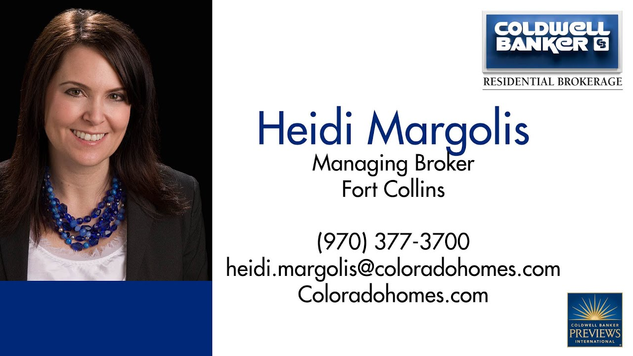 Heidi Margolis, Coldwell Banker, Rockin\' Business Card - YouTube