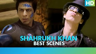 Best of Shahrukh Khan - Top Scenes - R.A One  Part 1