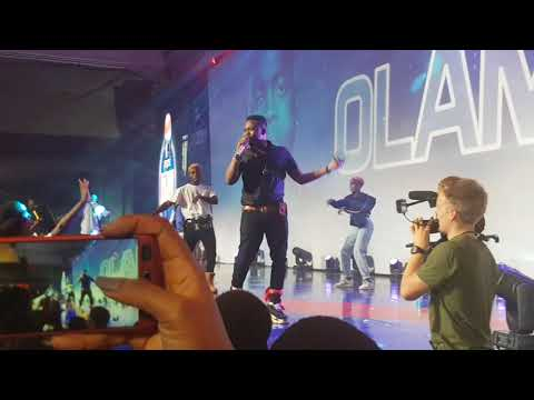 OLAMIDE Performs WO, ELEDA MI, WHO YOU EPP And Other Songs At Pepsi's Rhythm Unplugged Dec 23 2017
