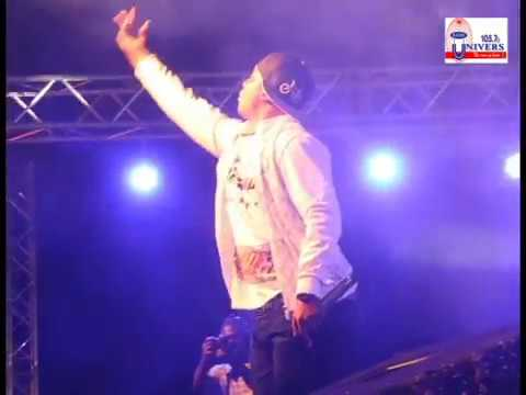 Dr Cryme thrills fans at 2017 Pent Hall week/Artiste Night