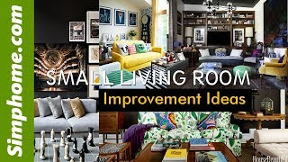 20 Small Living Room Improvement Ideas