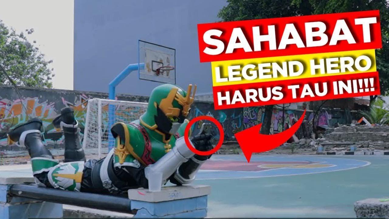 HEBOHHH Para Legend Hero Sekarang Jadi Youtuber RTVlog