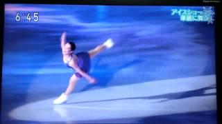 笠松スケートフェスティバル2015のショー映像を抜粋(画撮り)