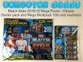 Match Attax 2018/19 Mega Packs - Deluxe Starter Pack and Mega Multipack 100 club madness